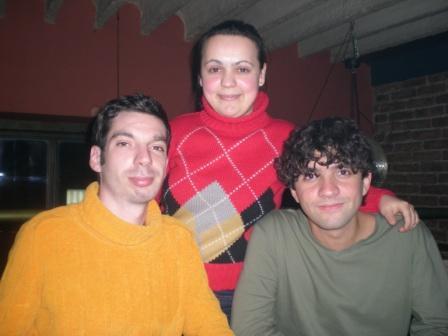 Mladen Ciric, Verica Filipovic e eu