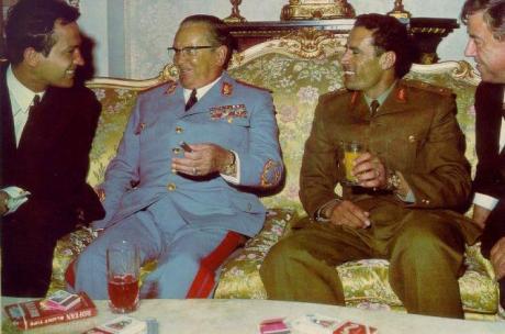 O velho marechal e o então jovem coronel